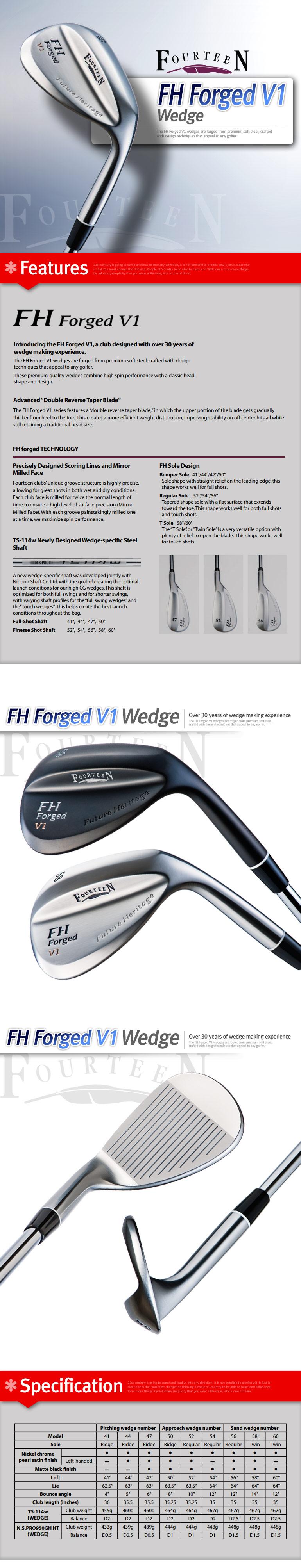 Fourteen V1 Wedge